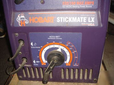 hobart stickmate lx 235 manual