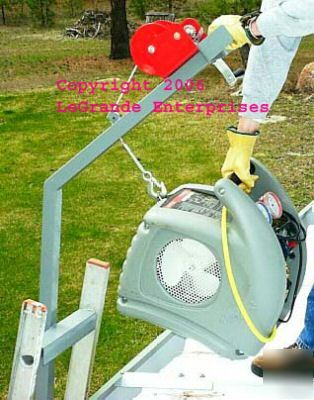 Hvac compressor hoist ladder condensing unit crane CH2