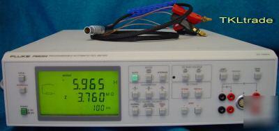 Fluke Pm6304 3 Programmable Automatic Rcl Meter Pm9541b