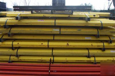 Floor Guide Rail For Pallet Rack Systems 480 Feet