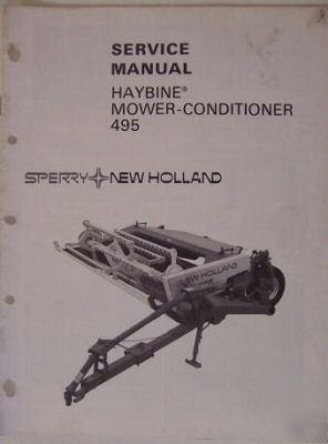 488 New Holland Haybine Service Manual / Descargar Libro
