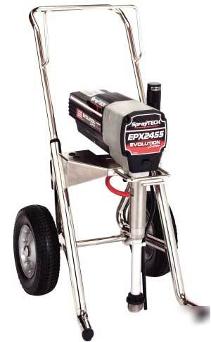 Spraytech Epx2455 Airless Paint Sprayer Complete W Ght