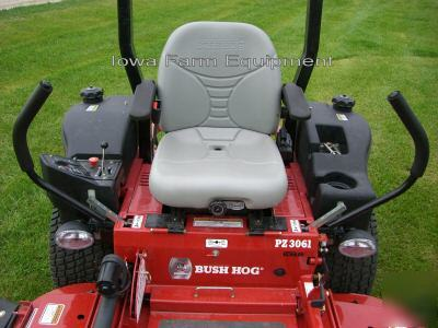 Beautiful Bush Hog Pz3061 Zero Turn Zt Ztr Riding Mower