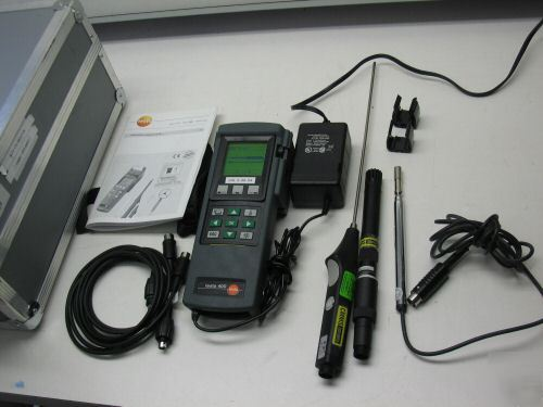 Examples Of Measurement Instruments : Testo multi function reference measuring instrument