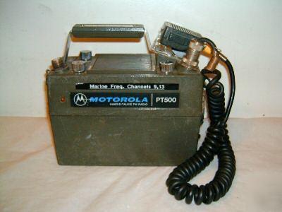 Motorola Pt Pt Radio Marine Land Way Photo Example