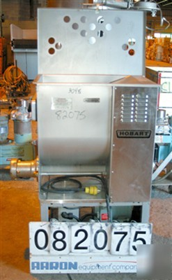 Used: hobart meat grinder, model 4246S. 304 stainless s